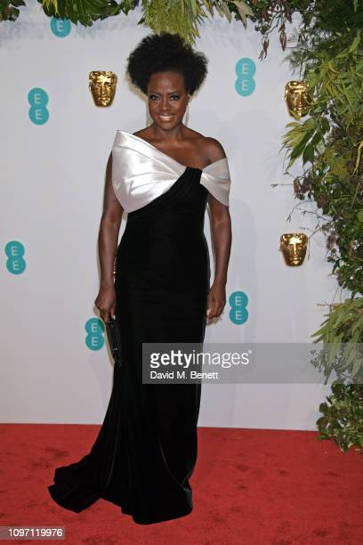 Viola Davis attends the EE British Academy Film Awards at Royal Albert Hall on February 10, 2019 in London, England.
