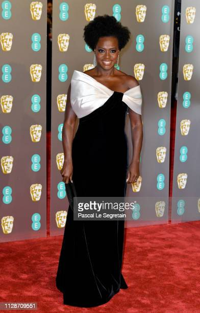 Viola Davis attends the EE British Academy Film Awards at Royal Albert Hall on February 10 2019 in London England