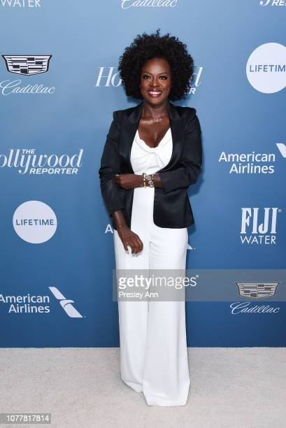Viola Davis attends The Hollywood Reporter's Power 100 Women In Entertainment at Milk Studios on December 05, 2018 in Los Angeles, California.