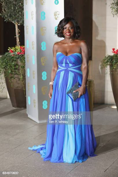 Viola Davis attends the official after party for the 70th EE British Academy Film Awards at The Grosvenor House Hotel on February 12 2017 in London...