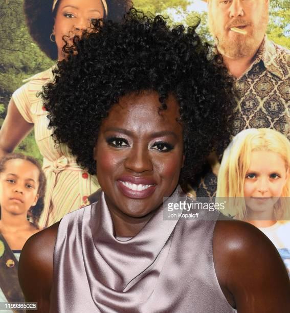 """Viola Davis attends the premiere of Amazon Studios' """"Troop Zero"""" at Pacific Theatres at The Grove on January 13, 2020 in Los Angeles, California."""