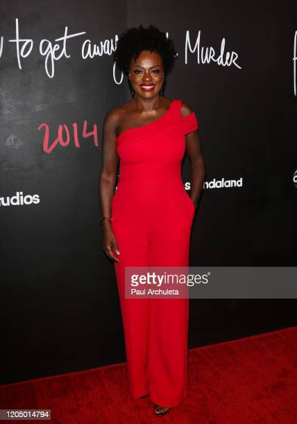Viola Davis attends the premiere of the series finale of ABC's How To Get Away With Murder' at Yamashiro Hollywood on February 08 2020 in Los Angeles...