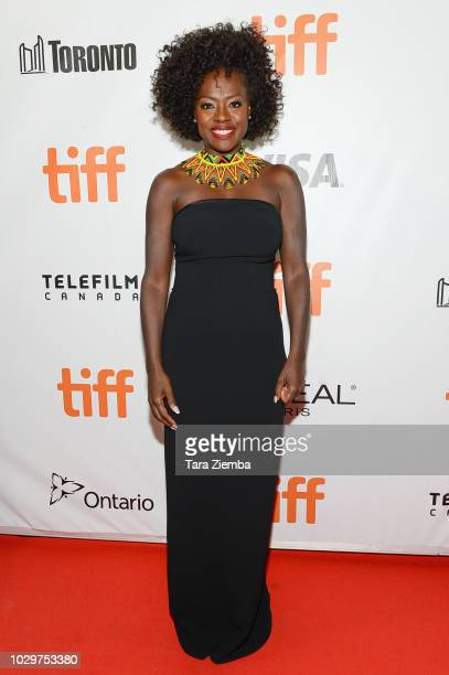 Viola Davis attends the premiere of 'Widows' during the 2018 Toronto International Film Festival at Roy Thomson Hall on September 8 2018 in Toronto...