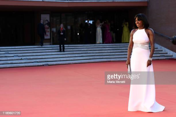 Viola Davis attends the red carpet during the 14th Rome Film Festival on October 26, 2019 in Rome, Italy.