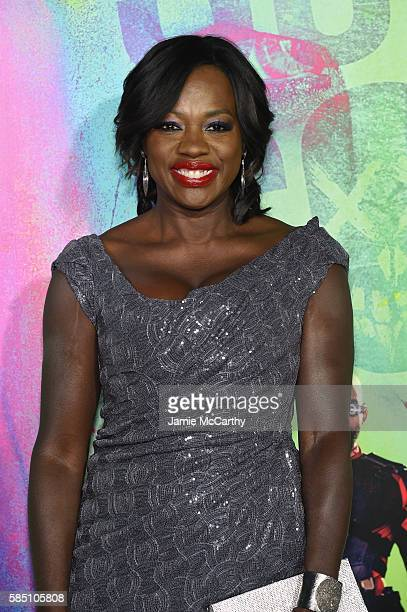 """Viola Davis attends the """"Suicide Squad"""" World Premiere at The Beacon Theatre on August 1, 2016 in New York City."""