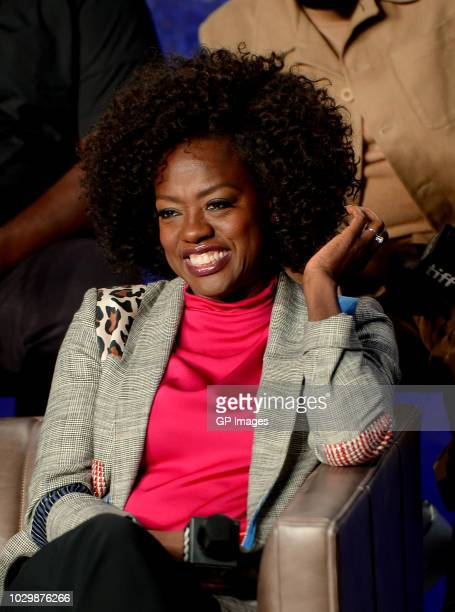 """Viola Davis attends the """"Widows"""" press conference during 2018 Toronto International Film Festival at TIFF Bell Lightbox on September 9, 2018 in..."""