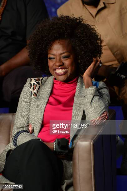 Viola Davis attends the Widows press conference during 2018 Toronto International Film Festival at TIFF Bell Lightbox on September 9 2018 in Toronto...
