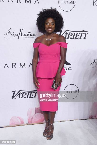 Viola Davis attends Variety's Power of Women New York at Cipriani Wall Street on April 13 2018 in New York City