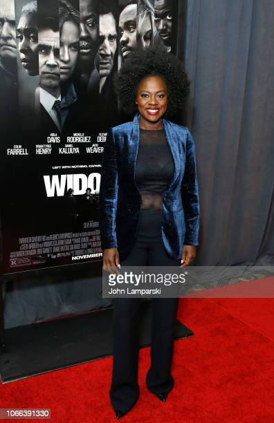 """Viola Davis attends """"Widows"""" New York Special Screening at Brooklyn Academy of Music on November 11, 2018 in New York City."""