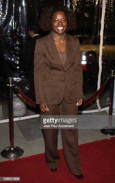 Viola Davis during 'Antwone Fisher' Premiere Beverly Hills at Academy of Motion Picture Arts Sciences in Beverly Hills California United States