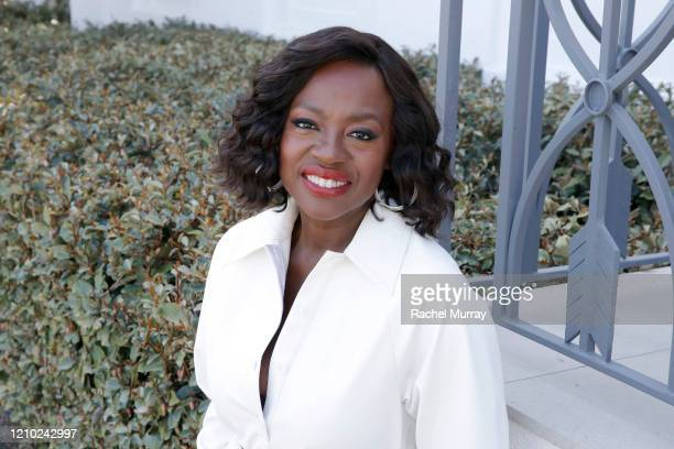 Viola Davis joins L'Oréal Paris to celebrate the launch of Age Perfect Cosmetics on March 03, 2020 in Beverly Hills, California.
