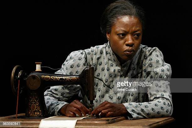 Viola Davis plays Esther who works as a seamstress making intinmate apparel for ladiesThe play Intimate Apparel will be at the Mark Taper Forum...