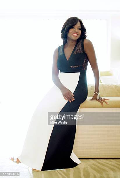Viola Davis poses for a portrait session at the 2016 Maui Film Festival on June 6 2015 in Wailea Hawaii