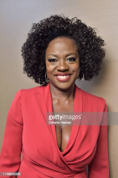 Viola Davis, wearing Max Mara, attends the 2019 Women In Film Annual Gala Presented by Max Mara with additional support from partners Delta Air Lines...
