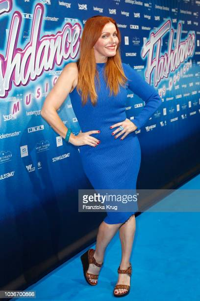 Viola Moebius attends the premiere of 'Flashdance Das Musical' at Mehr Theater on September 20 2018 in Hamburg Germany