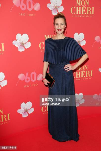 Viola Weiss during the Mon Cheri Barbara Tag at Postpalast on November 30 2017 in Munich Germany