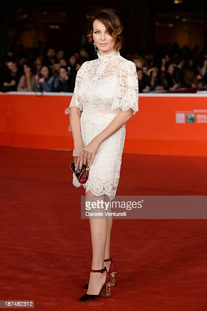 Violante Placido attends 'Le Tentazioni Del Dottor Antonio' Premiere Restored with the contribuiton of Dolce Gabbanaduring The 8th Rome Film Festival...