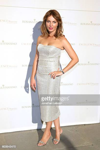 Violante Placido attends the closing night reception at Salone del Tronoin Palazzo Corsini as part of Celebrity Fight Night Italy Benefiting The...