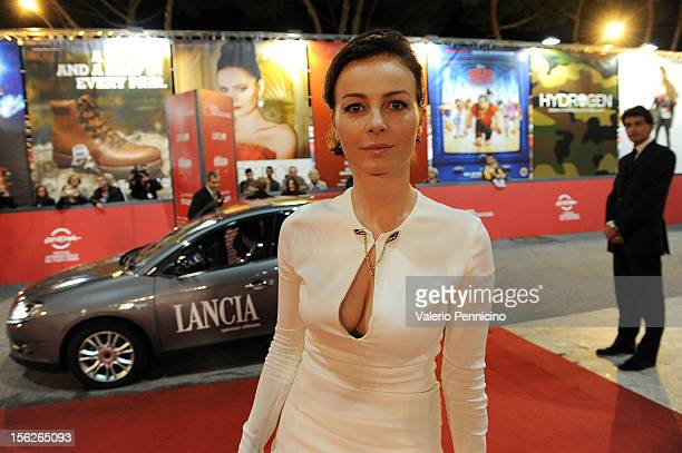 Violante Placido attends 'The Lookout' Premiere during the 7th Rome Film Festival on November 12 2012 in Rome Italy
