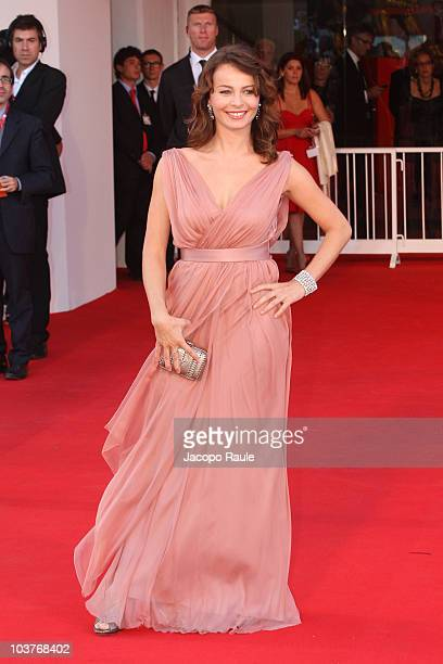 Violante Placido attends the opening ceremony and the Black Swan premiere at the Palazzo del Cinema during the 67th Venice International Film...