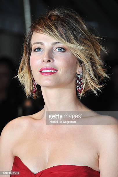 Violante Placido attends the Opening Ceremony Dinner during the 69th Venice International Film Festival at Palazzo del Cinema on August 29 2012 in...