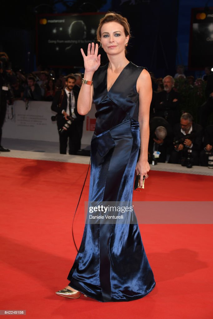 Violante Placido from Kineo delegation walks the red carpet ahead of the 'The Leisure Seeker (Ella & John)' screening during the 74th Venice Film Festival at Sala Grande on September 3, 2017 in Venice, Italy.