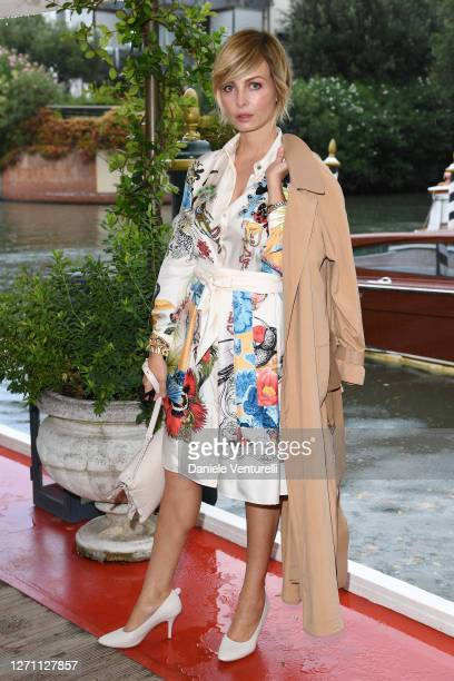 Violante Placido is seen at the 77th Venice Film Festival on September 07 2020 in Venice Italy