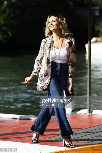 Violante Placido is seen during the 74 Venice Film Festival on September 1 2017 in Venice Italy