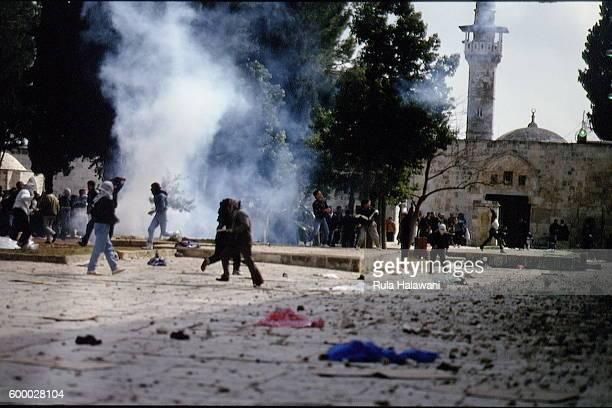 Violence in Jerusalem after the massacre in Hebron