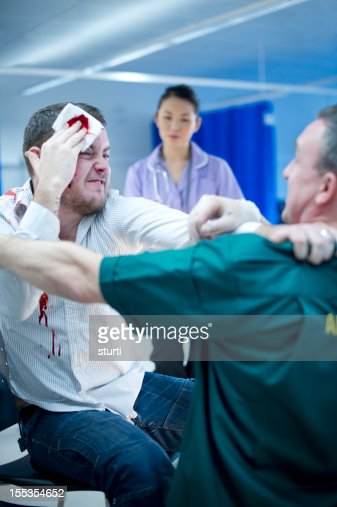 Violence To Hospital Staff Stock Photo | Getty Images