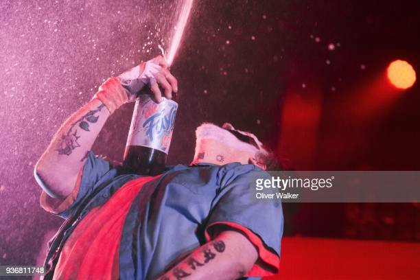 Violent J of Insane Clown Posse at the Regent Theater on March 22 2018 in Los Angeles California