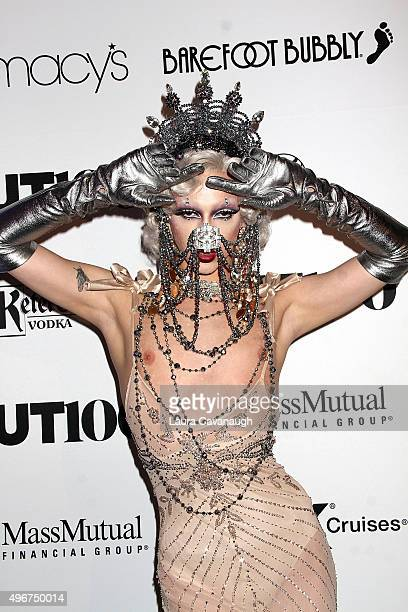 Violet Chachki attends the 2015 OUT 100 Celebration at Guastavino's on November 11 2015 in New York City