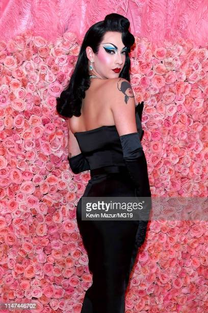 Violet Chachki attends The 2019 Met Gala Celebrating Camp Notes on Fashion at Metropolitan Museum of Art on May 06 2019 in New York City