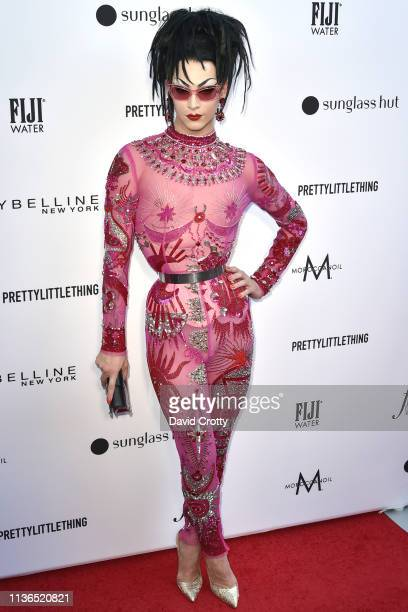 Violet Chachki attends The Daily Front Row Fifth Annual Fashion Los Angeles Awards at Beverly Hills Hotel on March 17 2019 in Beverly Hills California