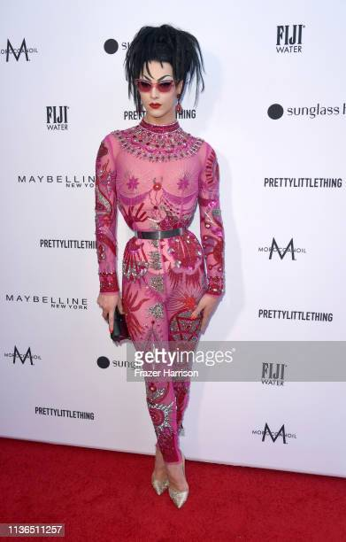 Violet Chachki attends The Daily Front Row's 5th Annual Fashion Los Angeles Awards at Beverly Hills Hotel on March 17 2019 in Beverly Hills California