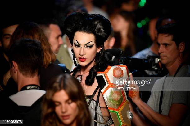 Violet Chachki attends the Jean Paul Gaultier Haute Couture Fall/Winter 2019 2020 show as part of Paris Fashion Week on July 03 2019 in Paris France