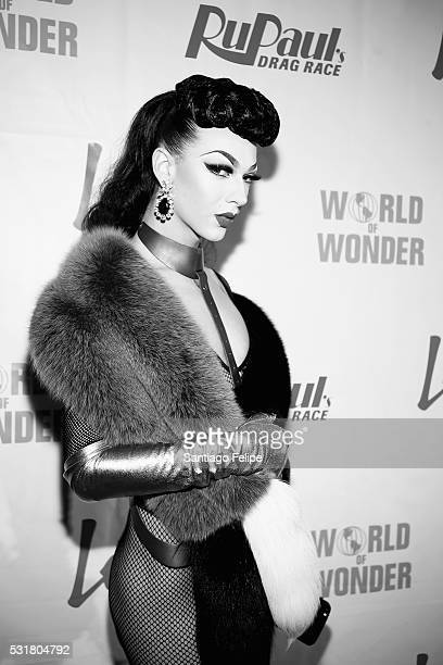 Violet Chachki attends the RuPaul's Drag Race Season 8 Finale Party at Stage 48 on May 16 2016 in New York City