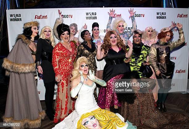 Violet Chachki Pearl Mrs Kasha Davis Max Jasmine Masters Sasha Belle Ginger Minj Tempest DuJour Jaidynn Diore Fierce Katya Kandy Ho Trixie Mattel and...