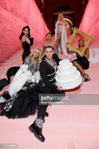 Violet Chachki Stella Maxwell Bella Hadid Gwen Stefani Jeremy Scott and Tracee Ellis Ross attend The 2019 Met Gala Celebrating Camp Notes on Fashion...