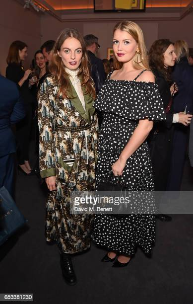 Violet Manners and Lady Kitty Spencer attend the launch of new book 'London Uprising Fifty Fashion Designers One City' by Tania Fares and Sarah Mower...
