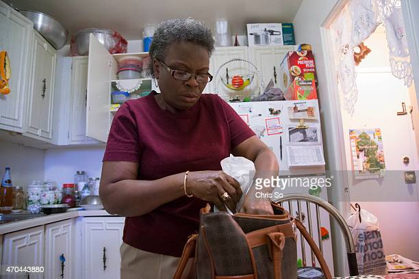Violet Sinclair packs her dinner and snack for her overnight shift 80% of her modest take home pay from her factory job goes towards rent