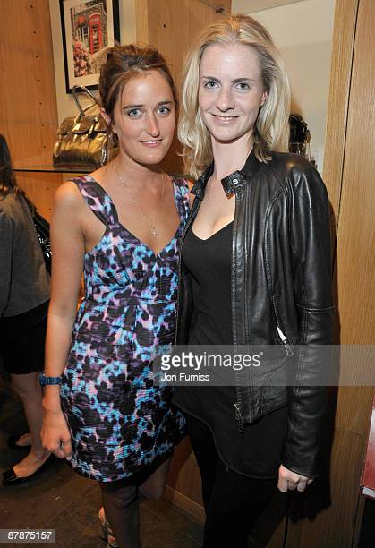 Violet Von Westenholz and Chloe Delevingne attends the book launch party for 'Romance' hosted by Mulberry at the Mulberry Store on May 20 2009 in...