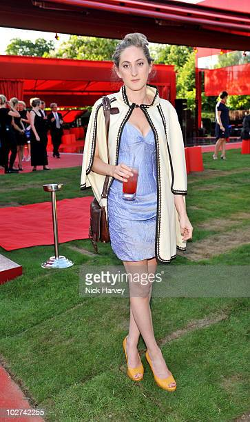 Violet Von Westenholz attends the annual Serpentine Gallery summer party at The Serpentine Gallery on July 8 2010 in London England