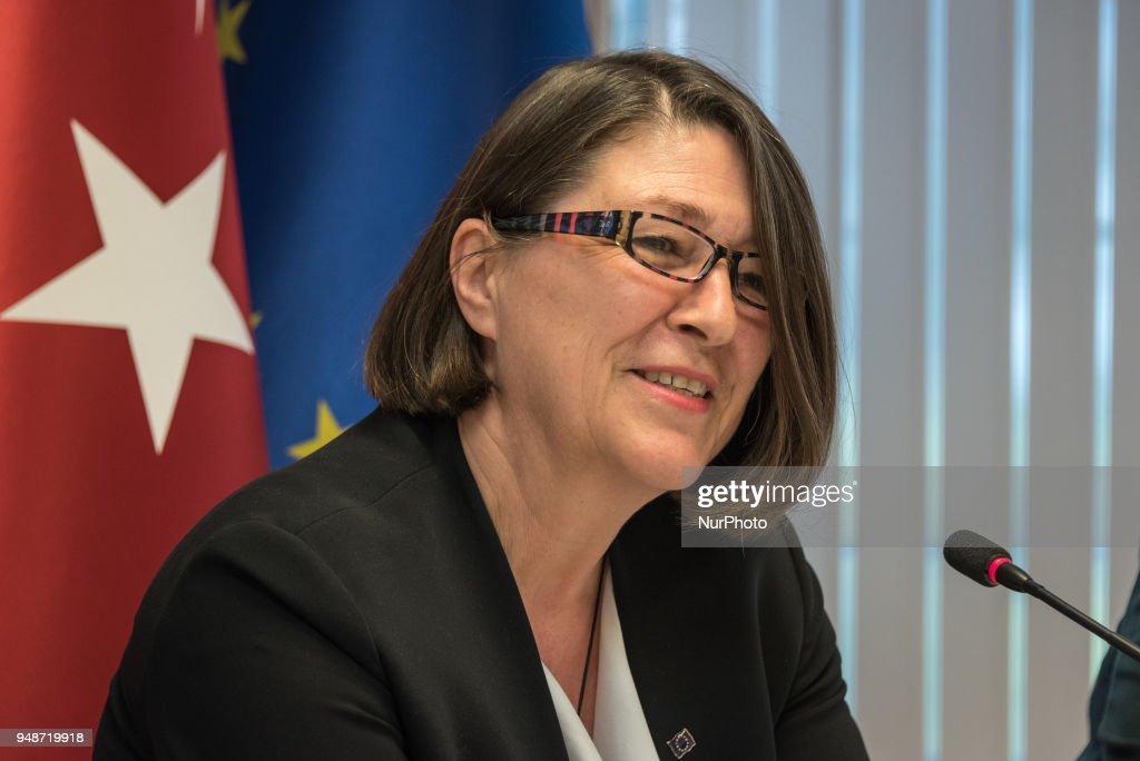 European Commisioner of Transport Violeta Bulc visits Turkey
