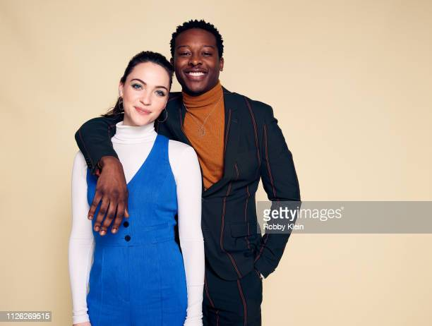 Violett Beane and Brandon Micheal Hall of CBS's 'God Friended Me' pose for a portrait during the 2019 Winter TCA at The Langham Huntington Pasadena...