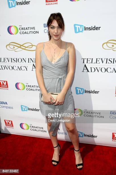Violett Beane at the Television Industry Advocacy Awards at TAO Hollywood on September 16 2017 in Los Angeles California