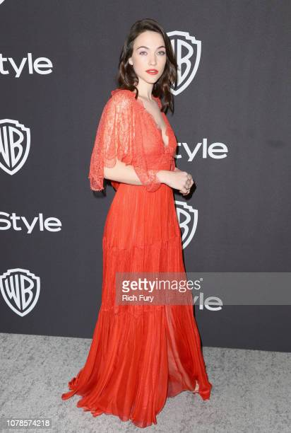 Violett Beane attends the InStyle And Warner Bros Golden Globes After Party 2019 at The Beverly Hilton Hotel on January 6 2019 in Beverly Hills...