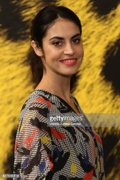 Violetta Schurawlow attends 'Iceman' photocall during the 70th Locarno Film Festival on August 8 2017 in Locarno Switzerland