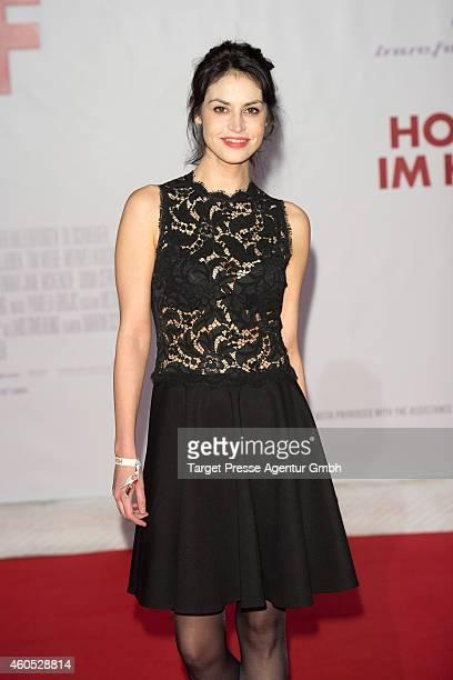Violetta Schurawlow attends the 'Honig im Kopf' Premiere at CineStar on December 15 2014 in Berlin Germany