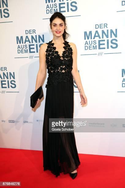 Violetta Schurawlow during the premiere of 'Der Mann aus dem Eis' at Cinemaxx on November 20 2017 in Munich Germany